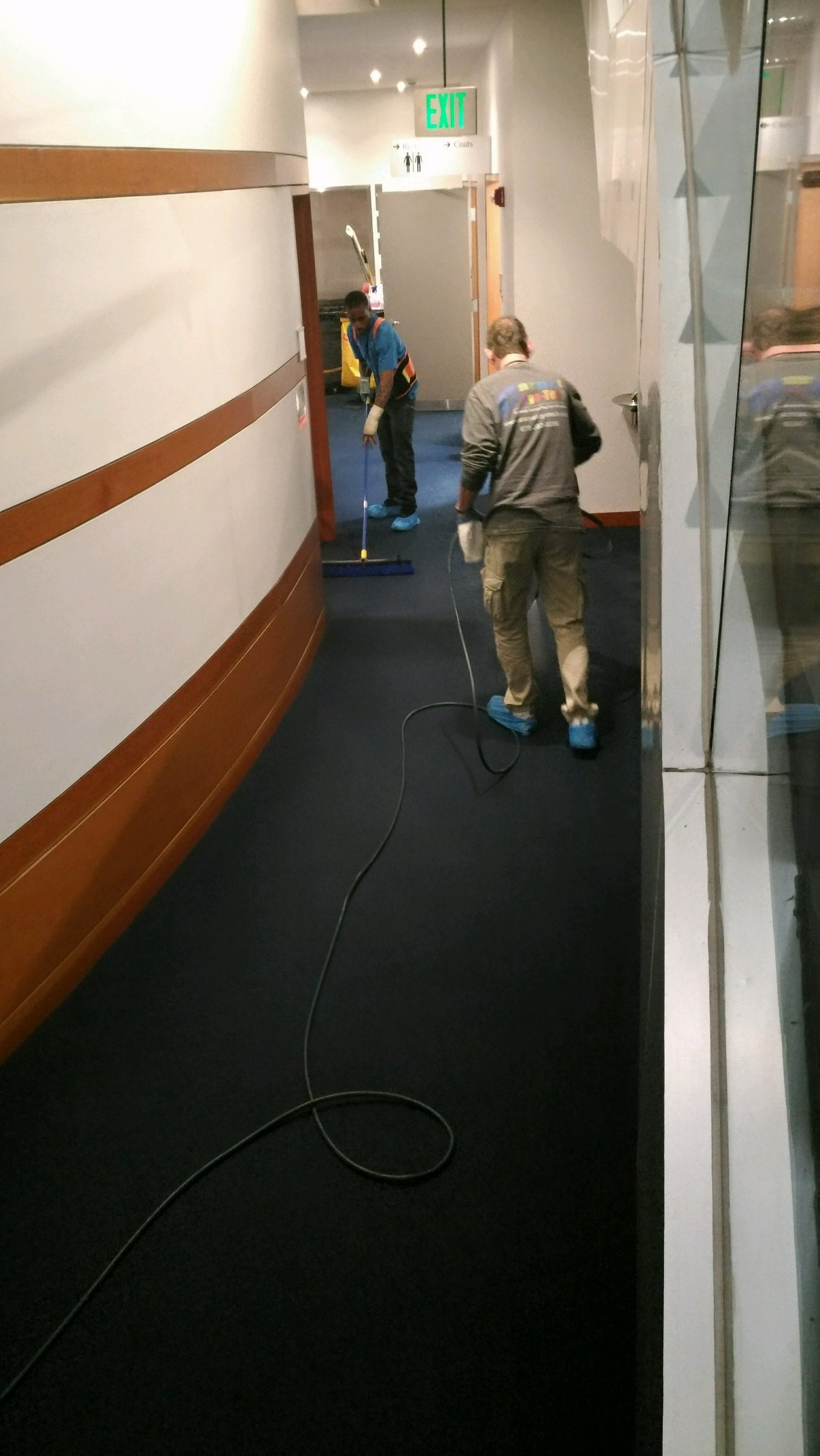 Blue Carpet Color Restoration at The Bureau of ATF in Washington, D.C.