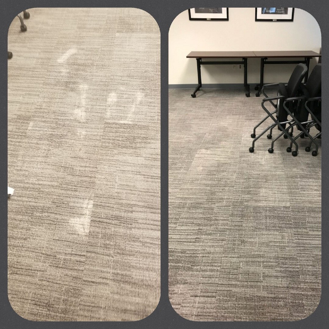 Grey Bleach Spot Repairs at Office Building in Alexandria, VA