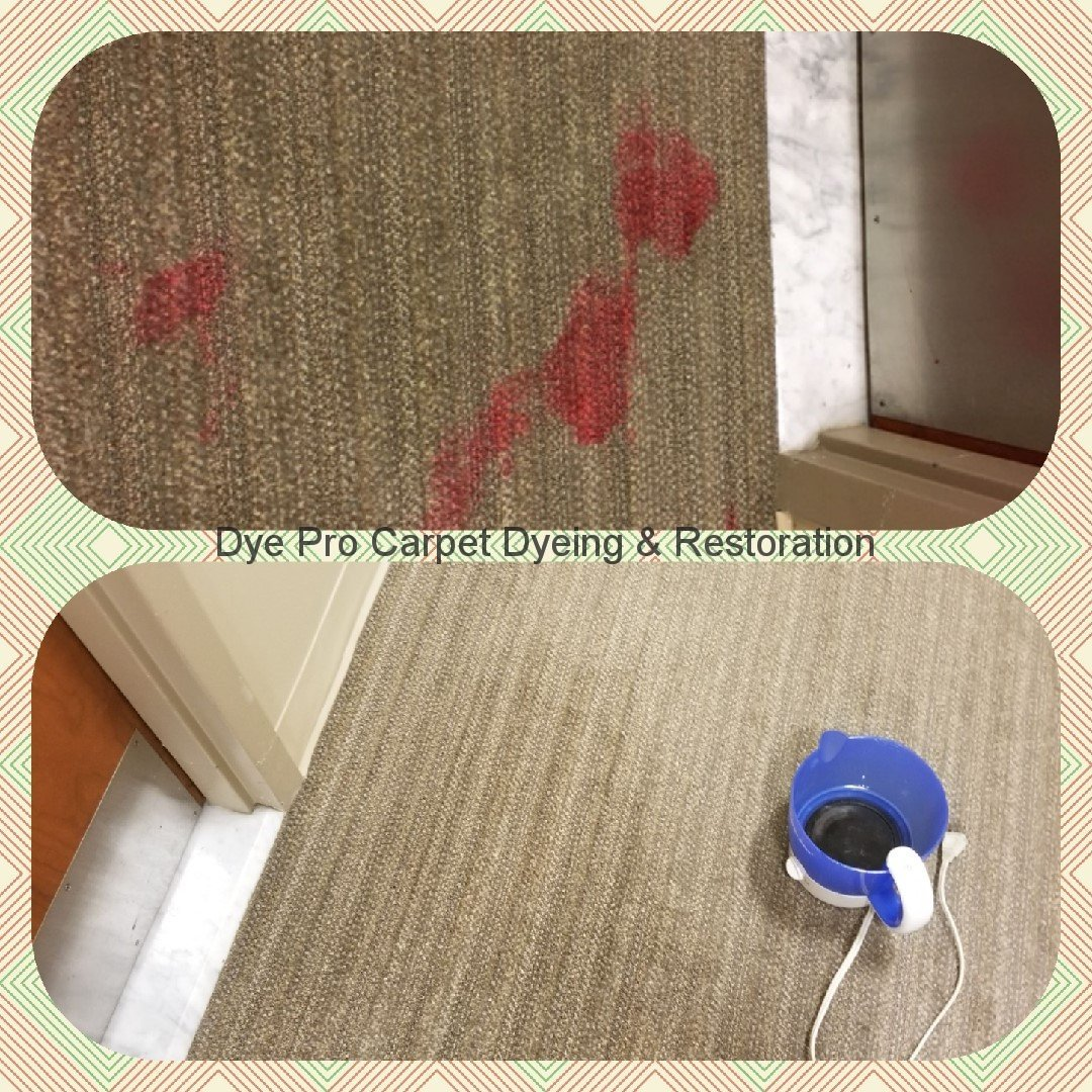 Red Carpet Stain Removal in Bethesda, MD