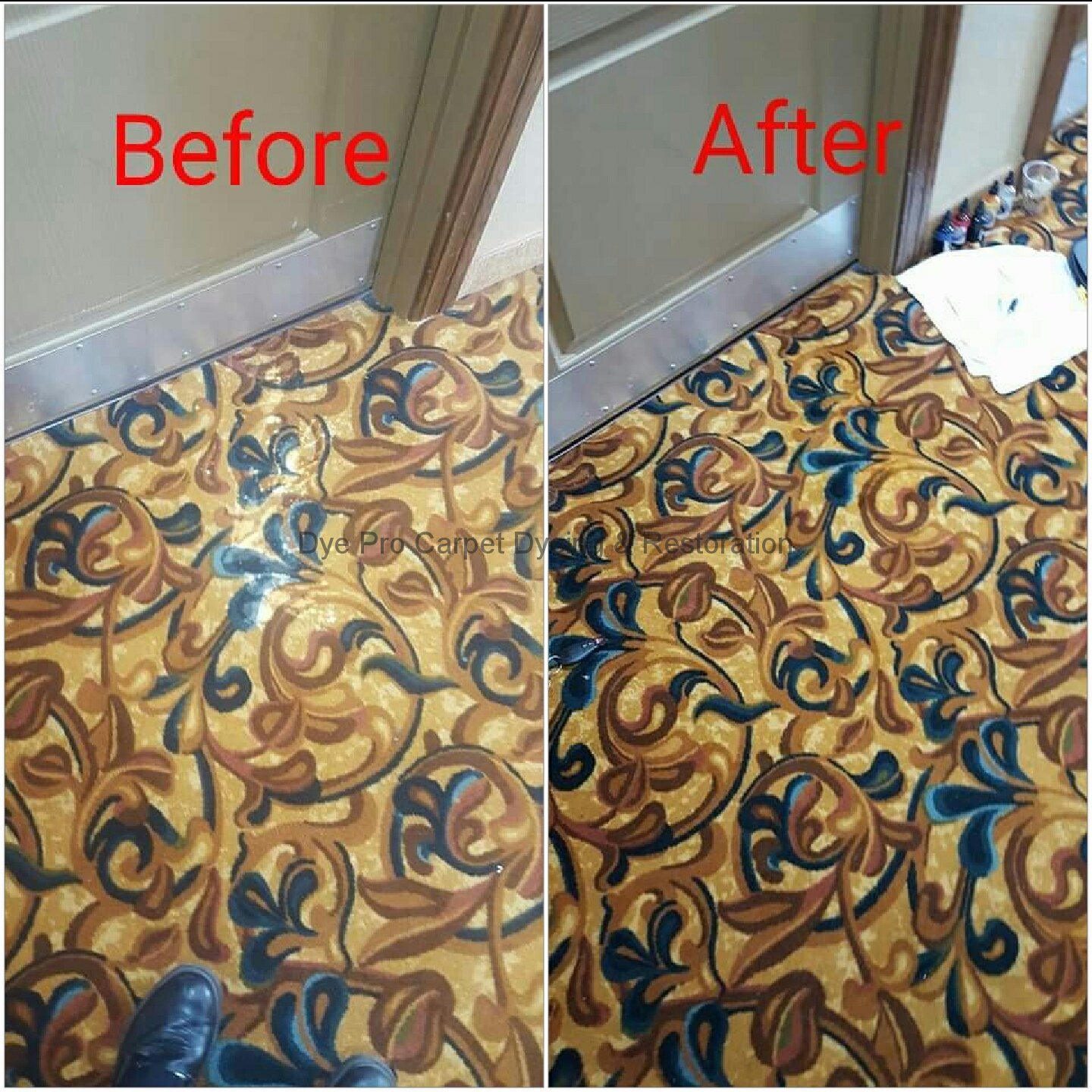 Bleach Spot Removal in Norfolk, VA Hotel