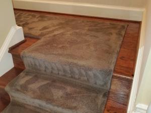 Carpet Stair Runner Color Change in Washington D.C.